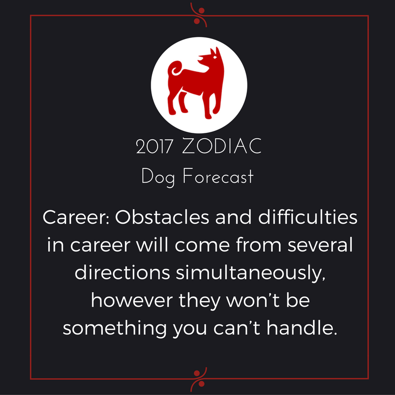 2017 Zodiac Forecast For The Dog Your 2017 Feng Shui Horoscope