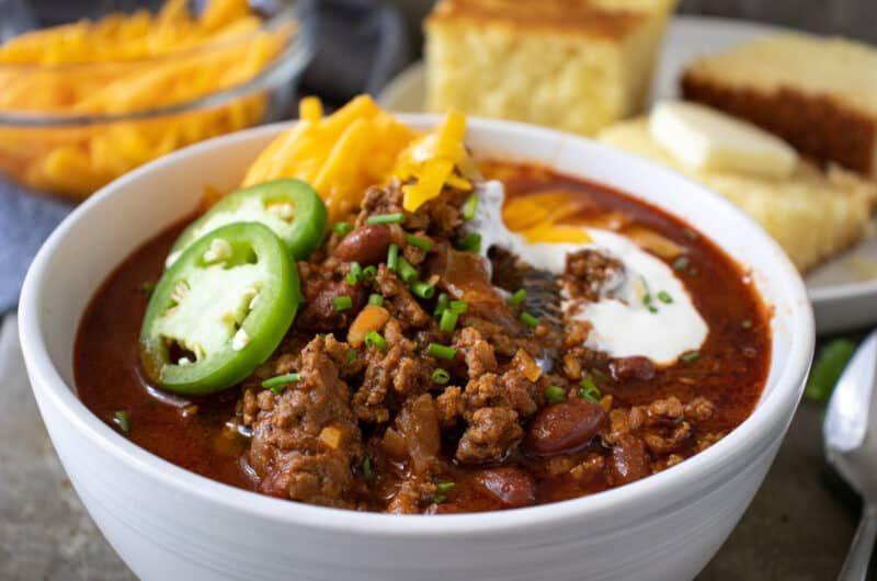 Chili Con Carne Fueling A Southern Soul Recipe Chili Con Carne Chili How To Cook Chili
