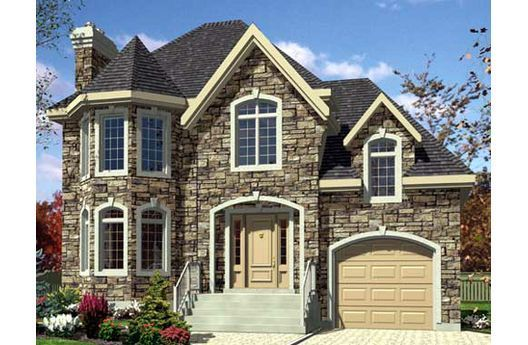 Turret home design.