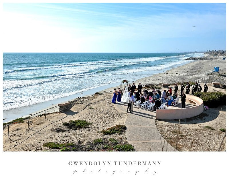 South Ponto Beach Wedding Photos 08