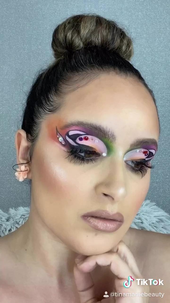 Pin on Dramatic Makeup