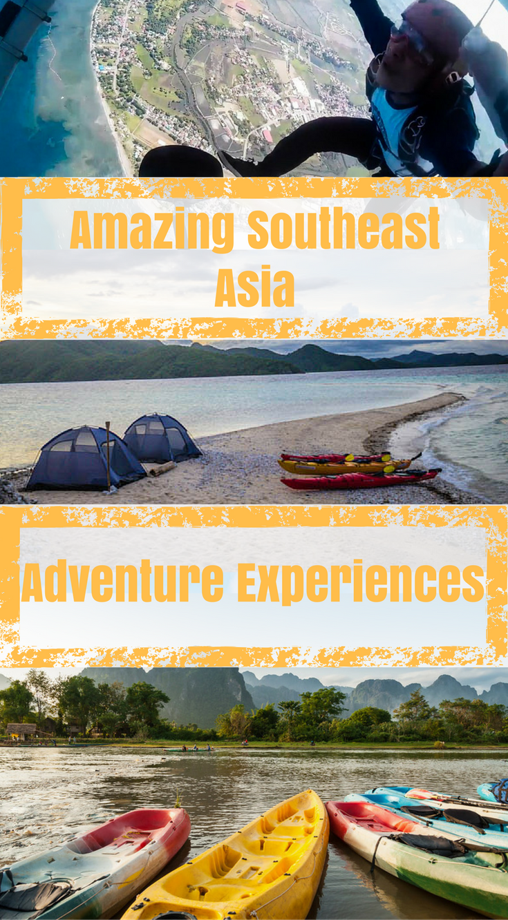 Amazing Southeast Asia Adventure Experiences by the Divergent Travelers Adventure Travel Blog. Southeast Asia is a beautiful part of the world with a lot of secrets to discover, so don't be shy, grab some water and head out on the trail. Click to read more at http://www.divergenttravelers.com/southeast-asia-adventure-experiences/