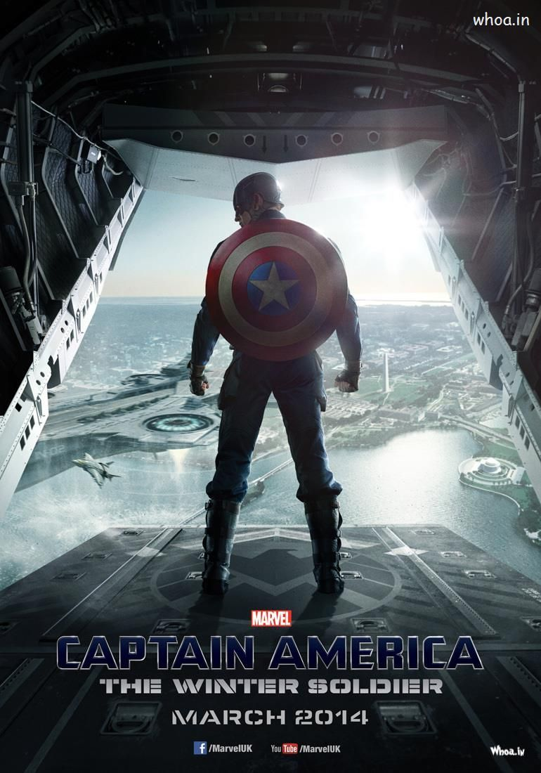 Hollywood Movie Captain America The Winter Soldier 2014 Movie