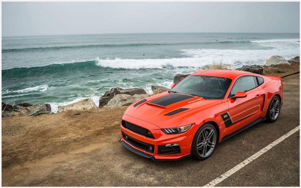 Mustang Roush Orange Car Wallpaper mustang roush orange