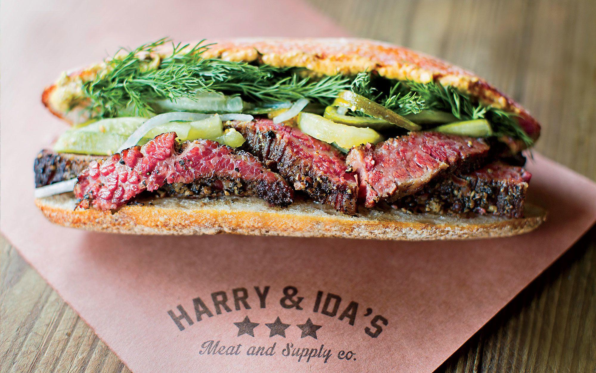 Pop's Pastrami: Harry & Ida's Meat & Supply Co., New York City