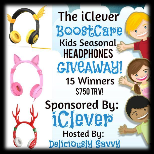 iClever BoostCare Kids Seasonal HeadPhones Giveaway! 15 Winners 10/27 http://mixedreviewsblog.com/index.php/2016/10/07/iclever-boostcare-kids-seasonal-headphones-giveaway-15-winners-1027/
