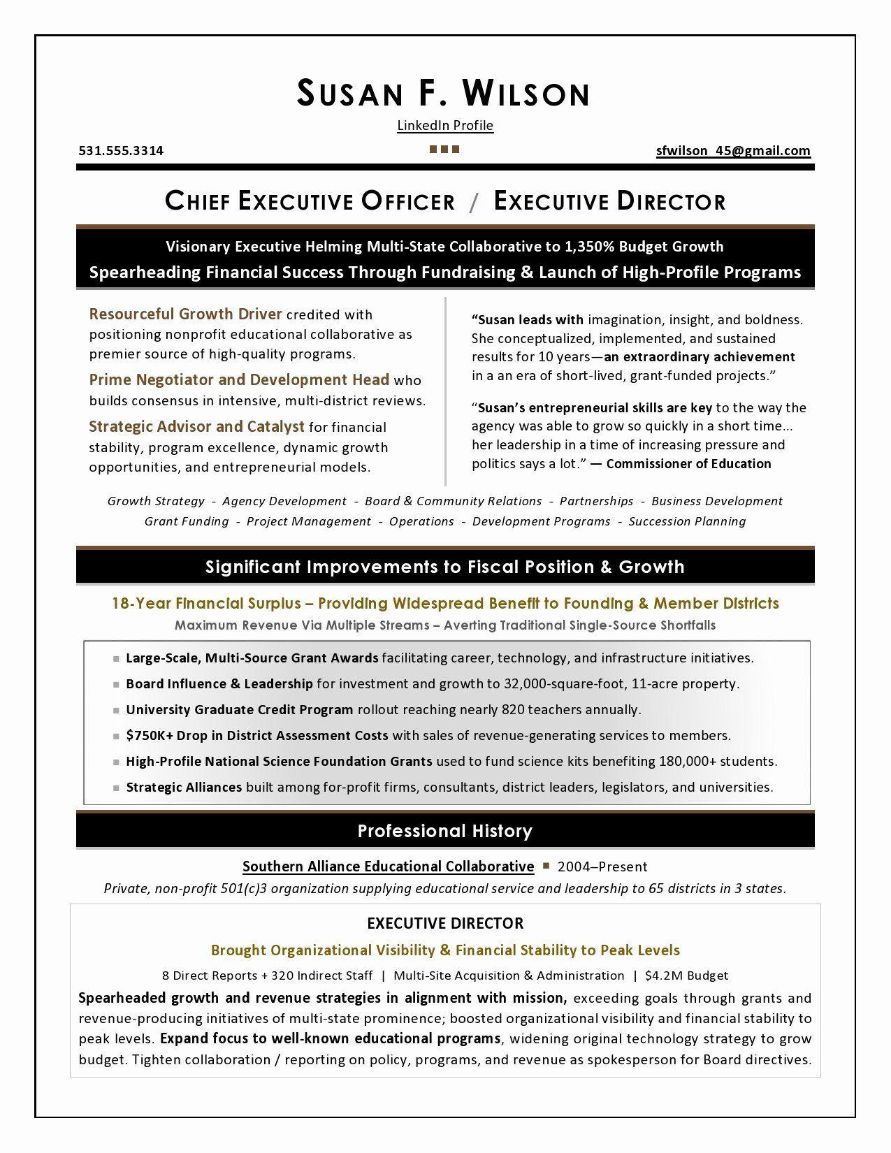 Business development executive resume fresh executive