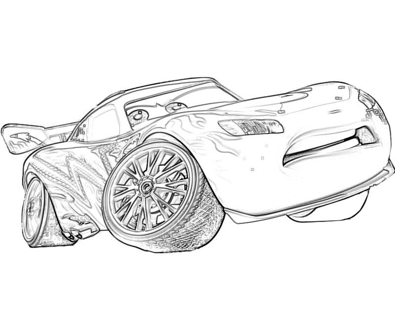 free printable lightning mcqueen coloring pages for kids pinterest
