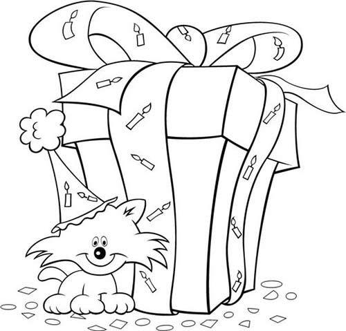 Dibujo Caja de Regalo de Cumpleaños | Pinterest | Regalos de ...