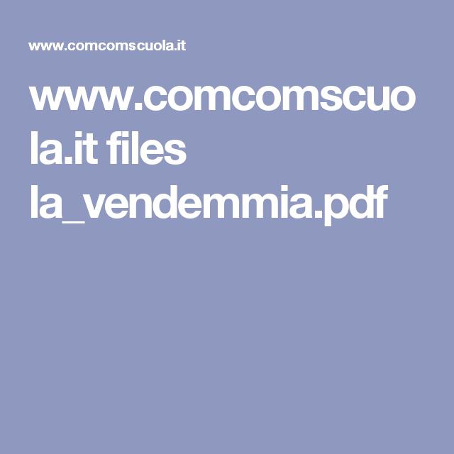 www.comcomscuola.it files la_vendemmia.pdf
