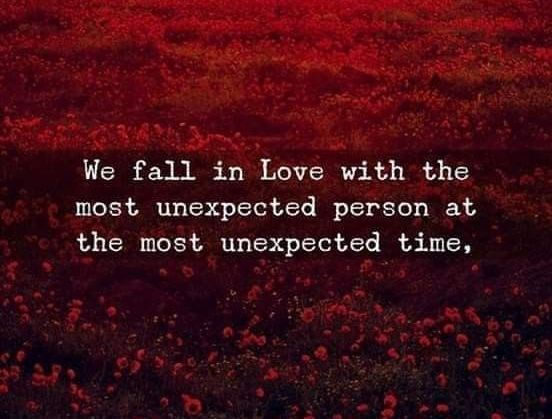 Soulmate And Love Quotes: Unexpected Love Quotes