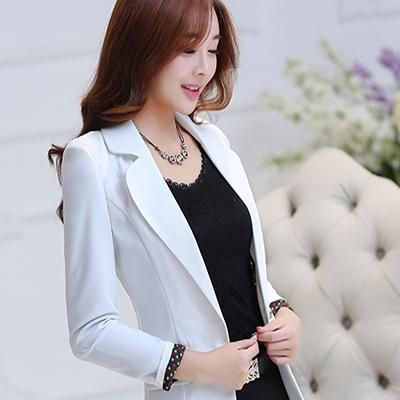 9a7c4cb9873 Gender: Women Item Type: Blazers Sleeve Length(cm): Full Pattern Type:  Solid Model Number: WS304 Female blazer candy color blazers for women  Closure Type: ...