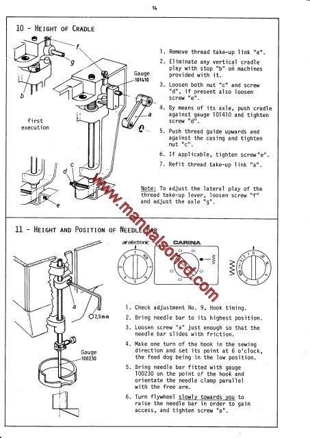 Elna Air Electronic Carina Elna 40 Sewing Machine Service Fascinating Elna Air Electronic Tsp Sewing Machine Manual