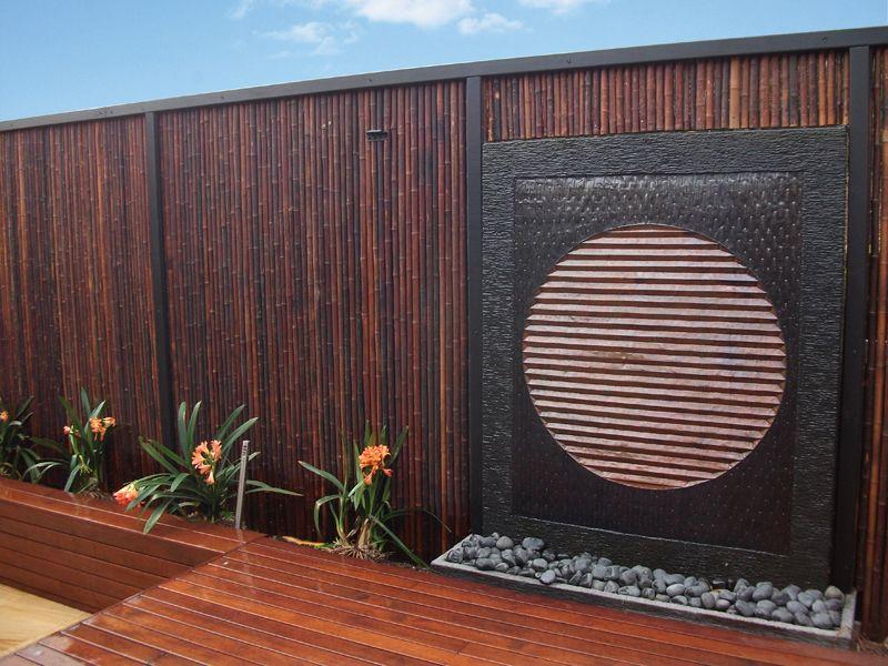 Bamboo Garden Fence Patio