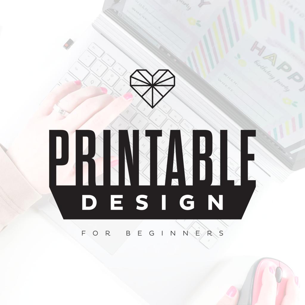 Printable Design For Beginners E Course