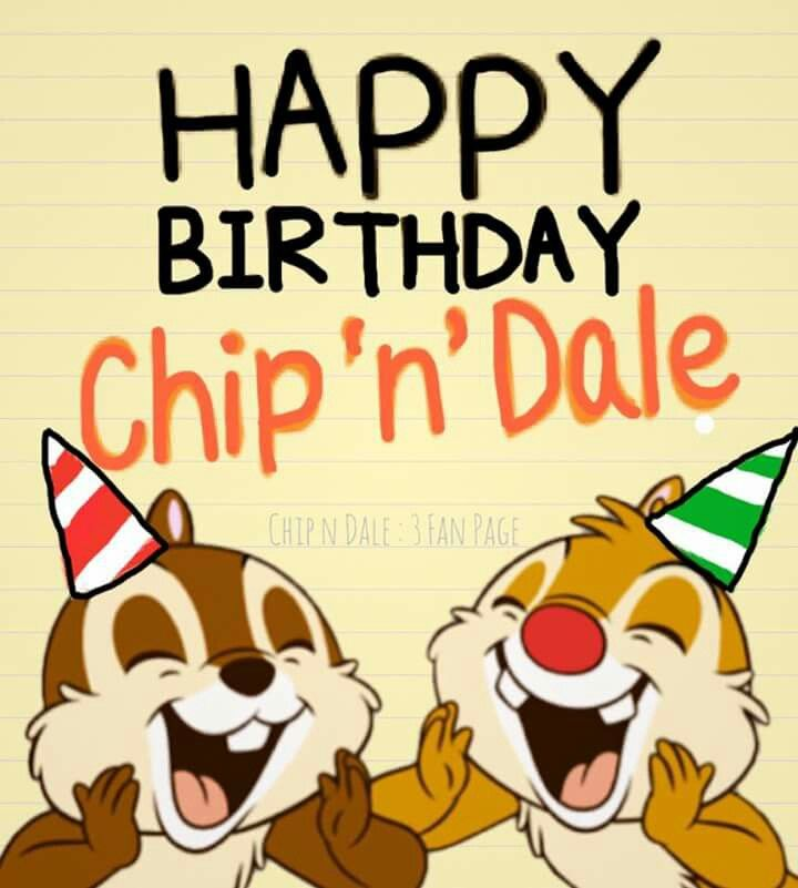 Chip And Dale, Chip N Dale, Disney Animals