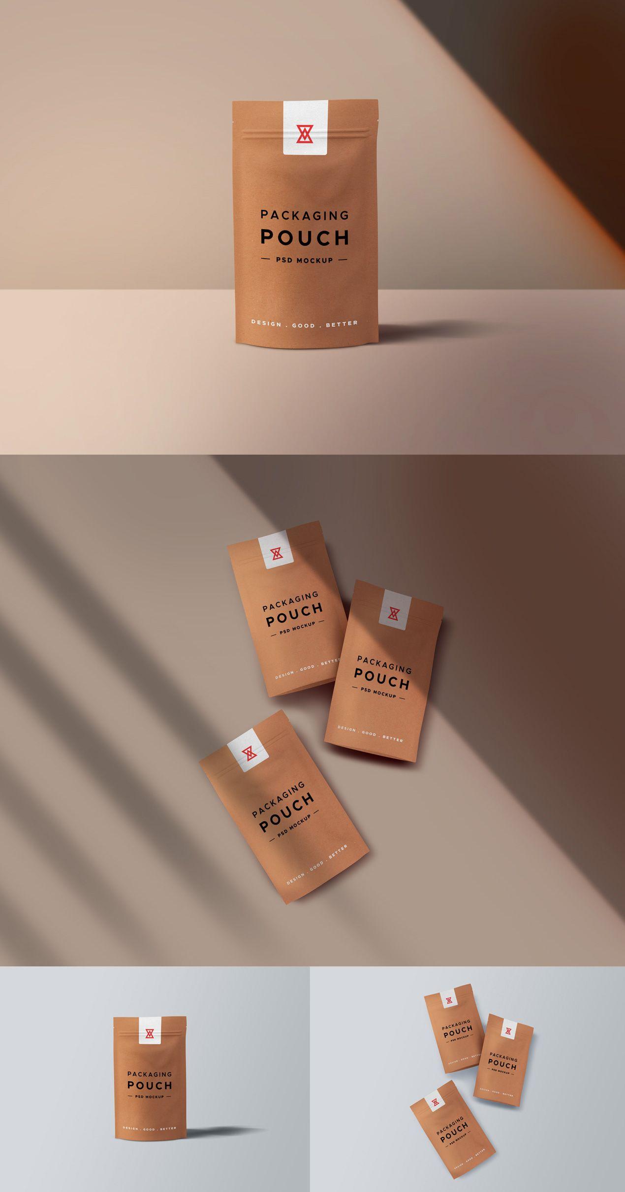 Download Paper Pouch Packaging Mockups Set Graphicsfuel Pouch Packaging Paper Pouch Packaging Labels Design