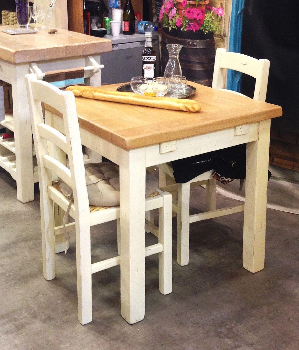 petite table cuisine bistrot 2 chaises