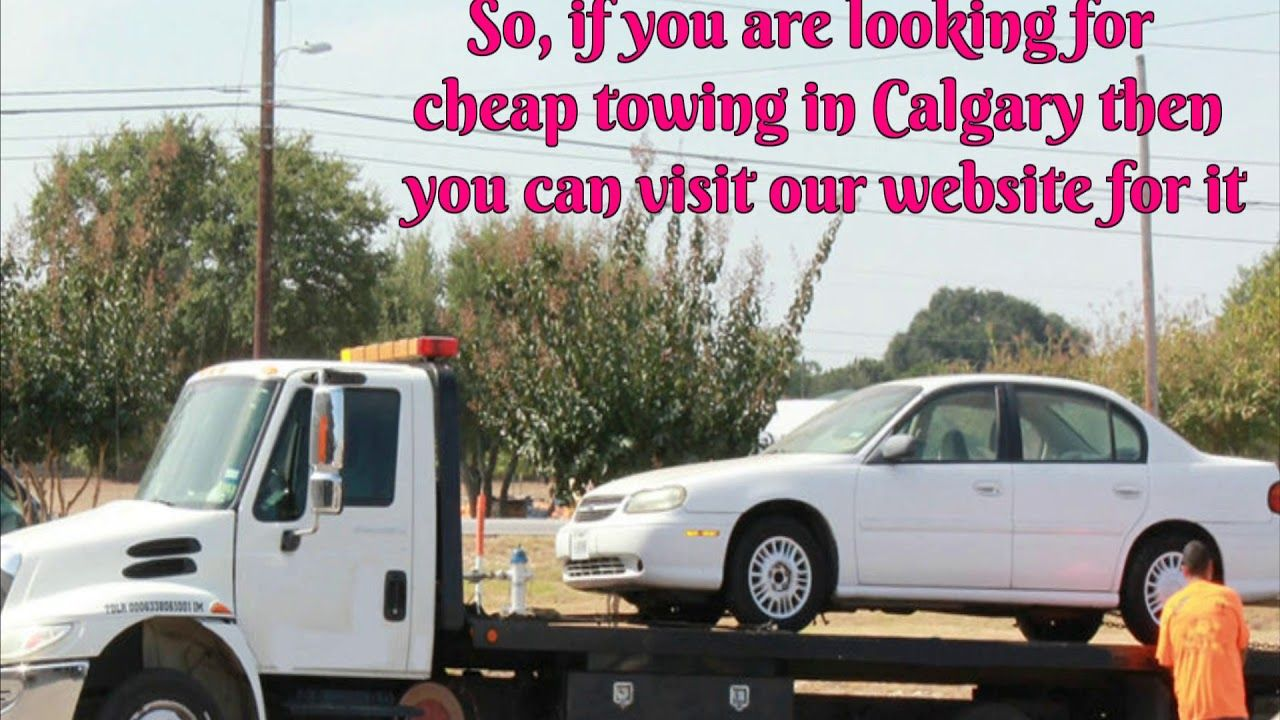 Pin by The Calgary on Car Towing Service | Pinterest