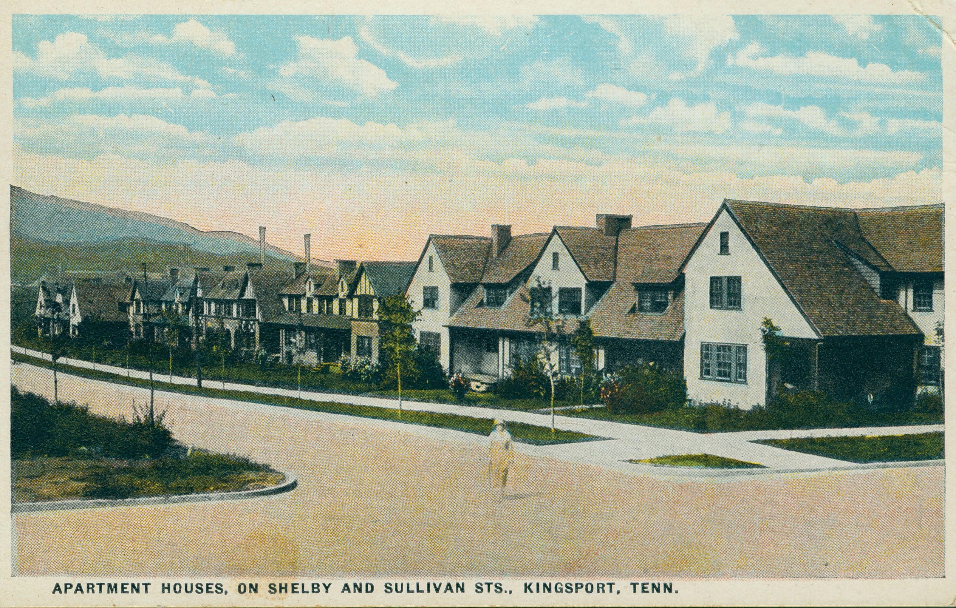 Apartment Houses On Shelby Street Southern Heritage Kingsport