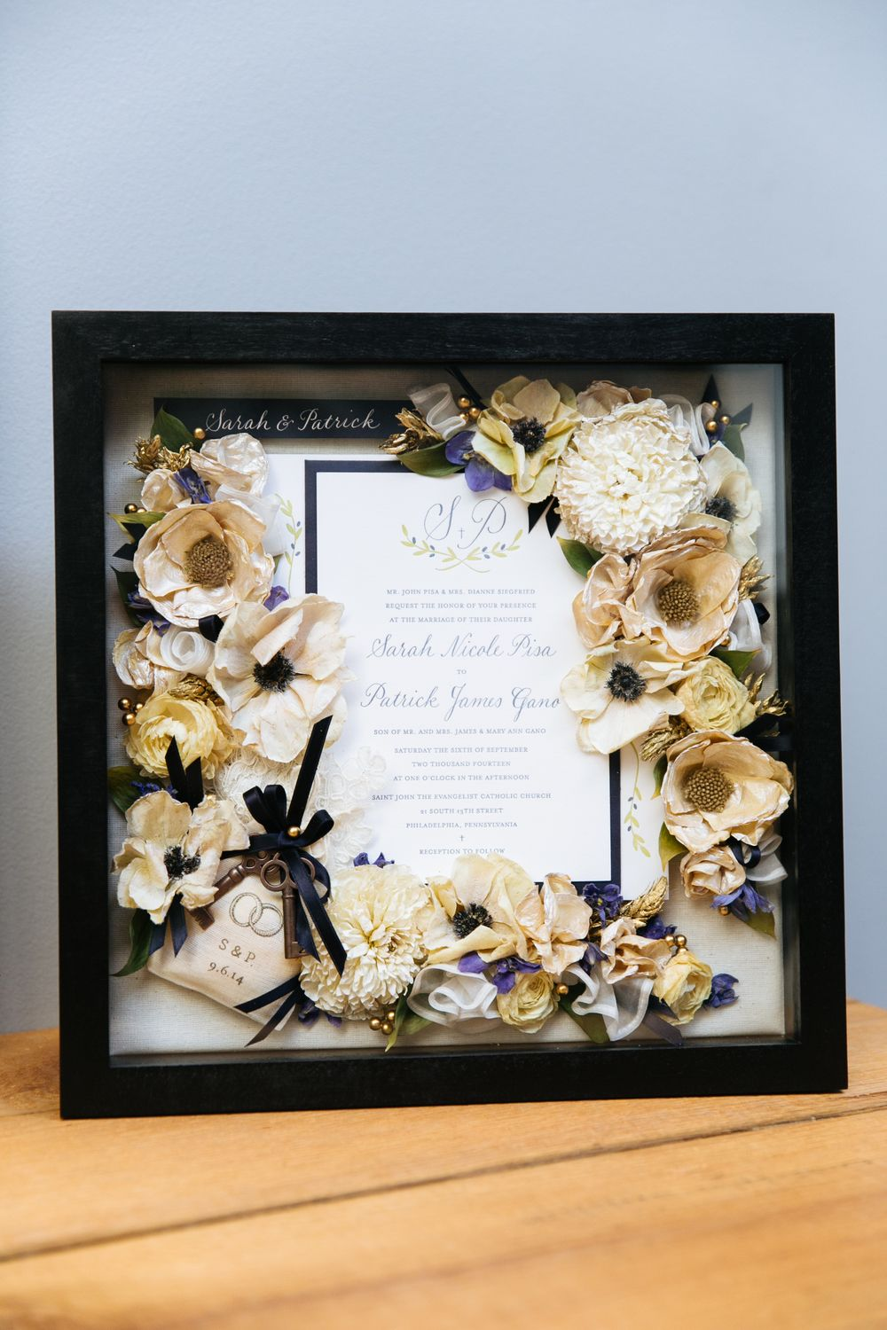 Wedding Bouquet Preservation 12 X12 Box Included Keys And