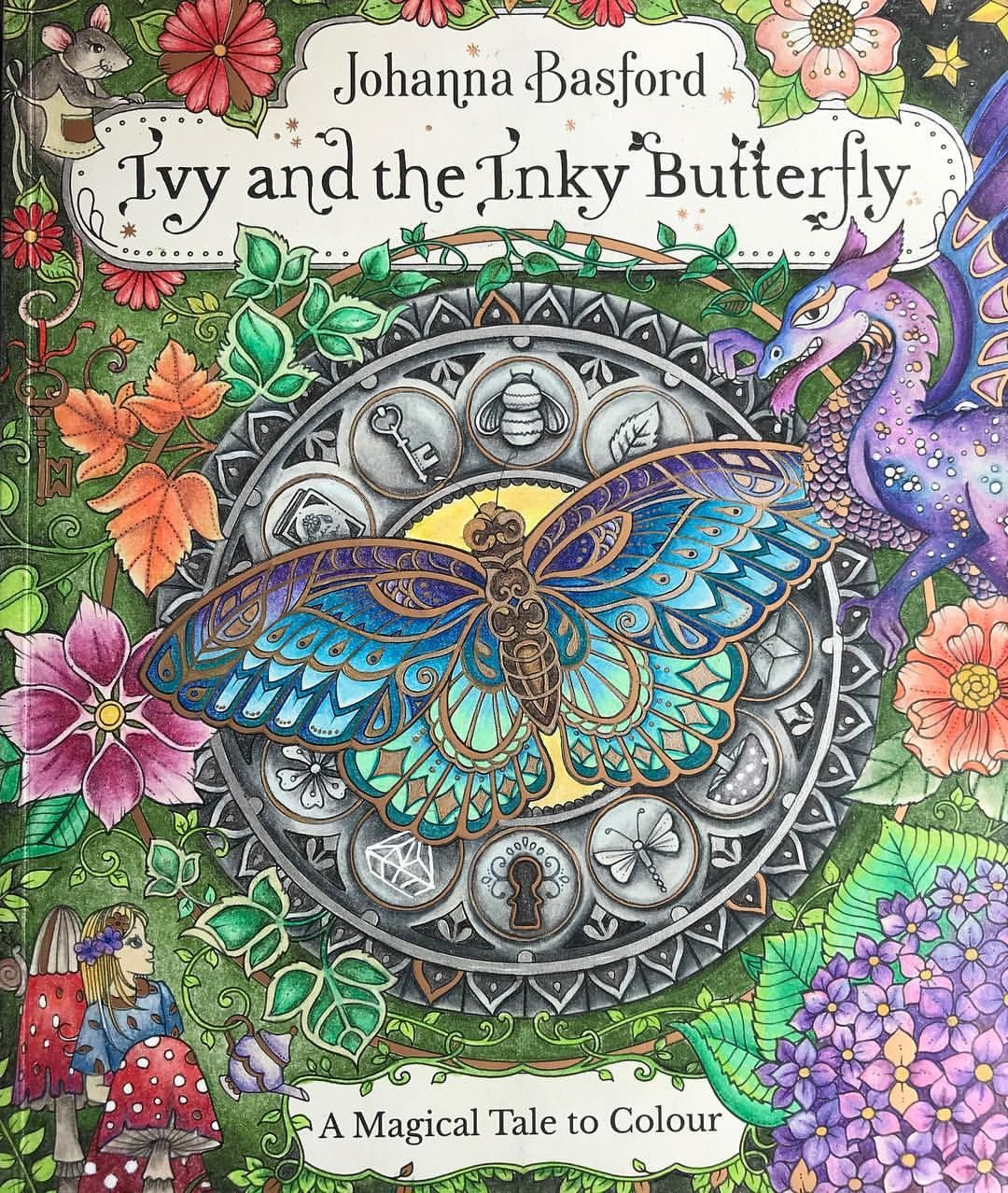 Advice Please Should I Colour The Titles Ivyandtheinkybutterfly Johanna Basford Coloring Book Enchanted Forest Coloring Book Joanna Basford Coloring