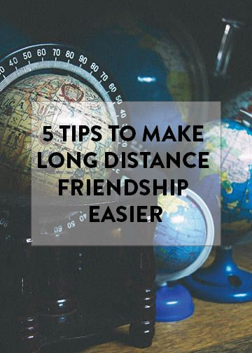 how to make long distance friendship work