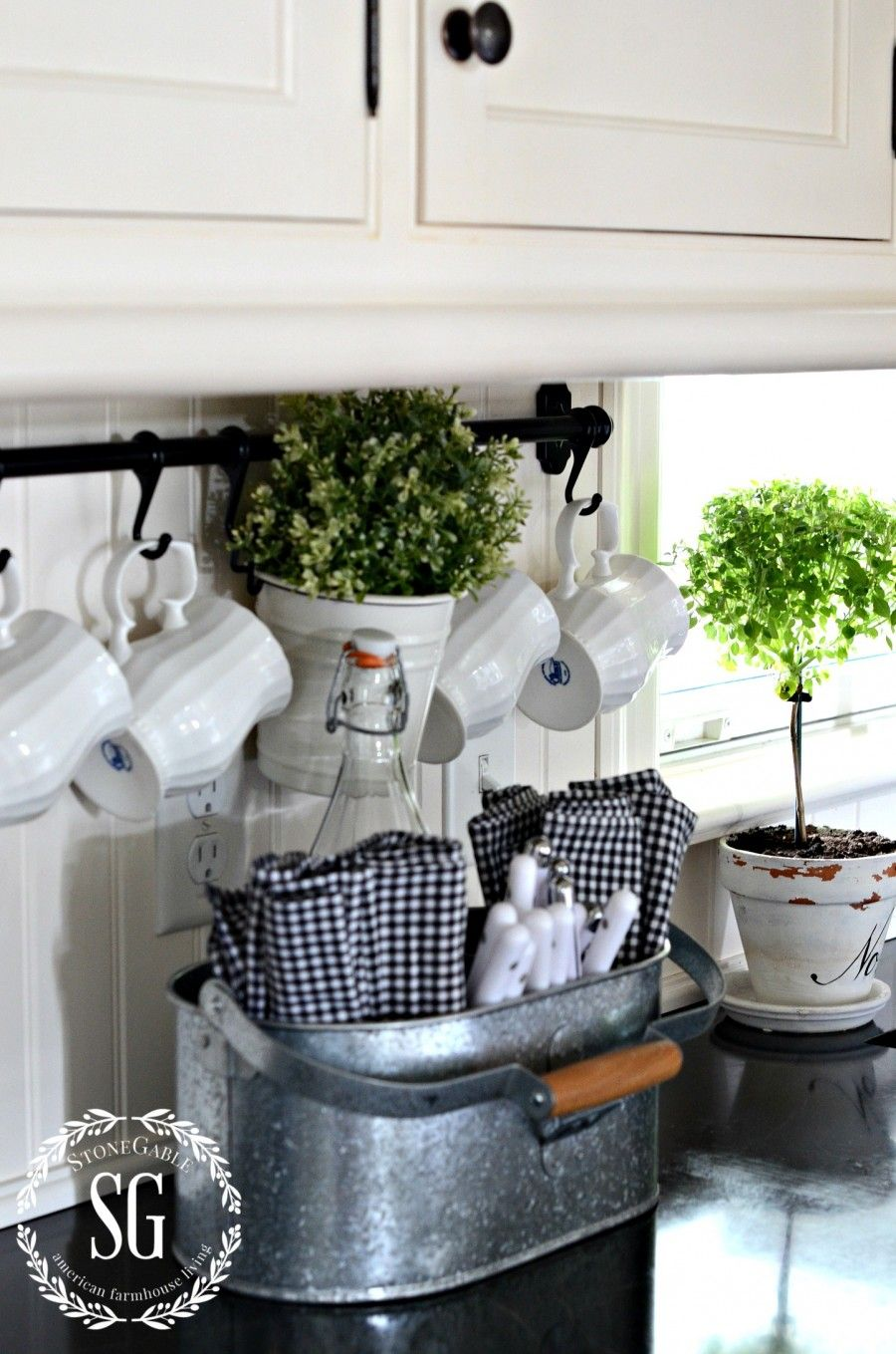 Farmhouse Kitchen Cottage Country Shabby Chic Style Ideas