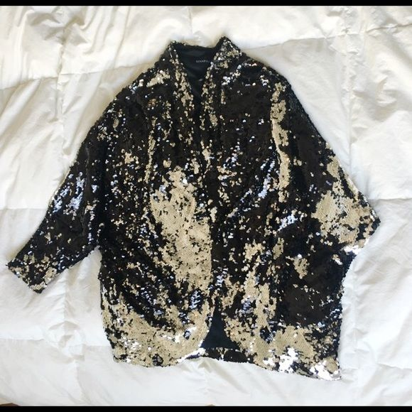b9d1e8cf4 Sequin oversized jacket Gorgeous oversized sequin jacket. Jacket has ...