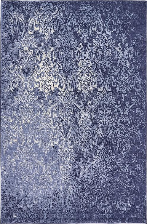 Light Blue Damask Area Rug Moody Blues Pinterest