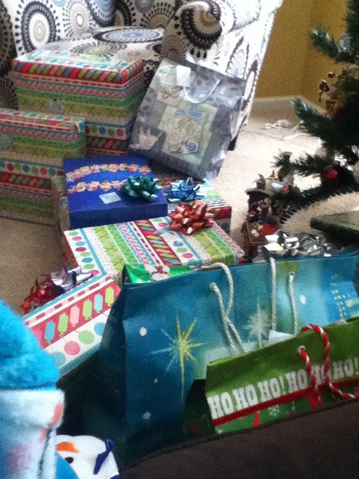 Lots of presents!!!!!!