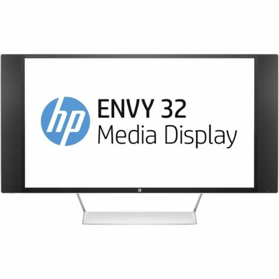 "HP - Envy 32"" LCD Monitor - Jet Black - Front Zoom"