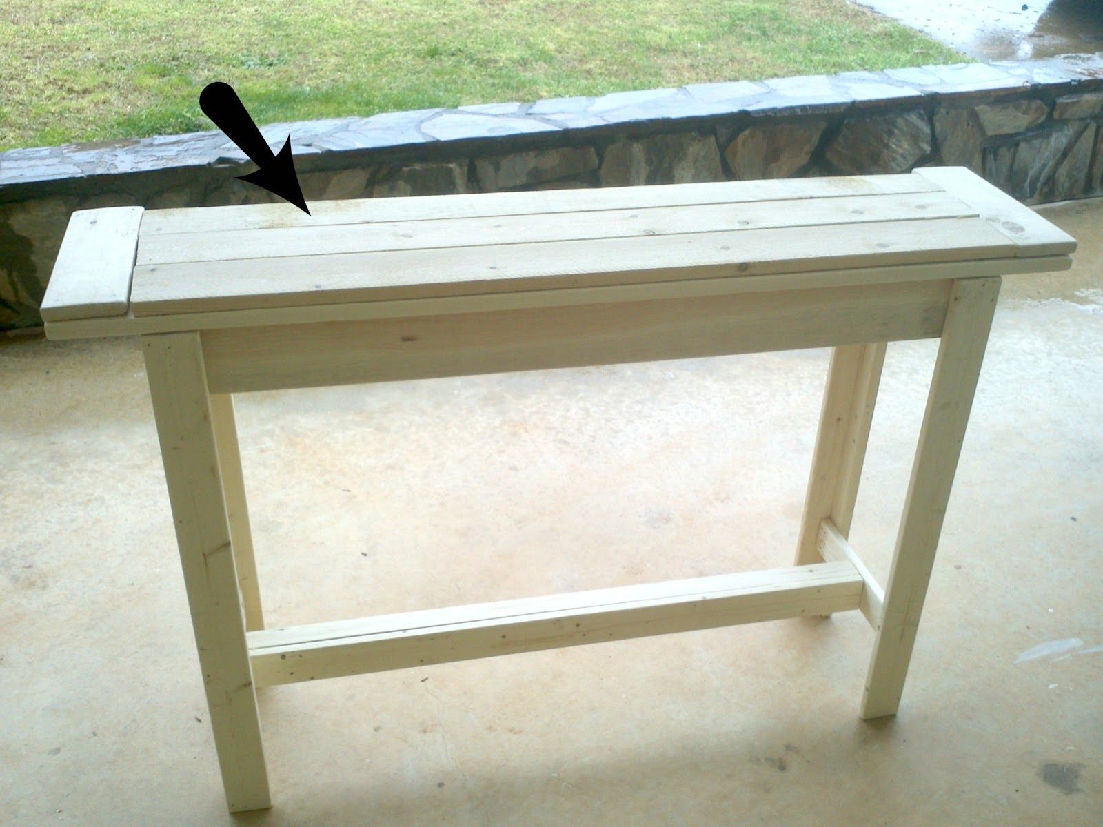 Pallet Entry Table Bourne Southern The Blog Diy Entry Table Under 30 Family