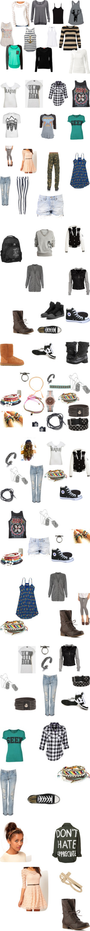 """school"" by hazzamine on Polyvore"