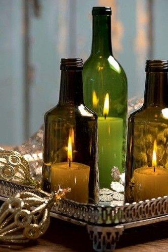 Artesanato Folclorico Do Sul ~ 16 Ideias INCR u00cdVEIS de Artesanato com Garrafas de Vidro Inove na Decoraç u00e3o Garrafas de