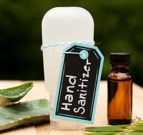 Homemade Hand Sanitizer Recipe Tea Tree Oil Uses Tea Tree