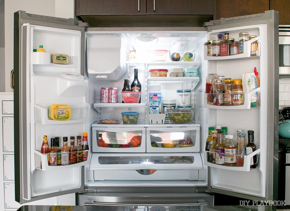 How To Organize Your French Door Refrigerator Fridge French Door