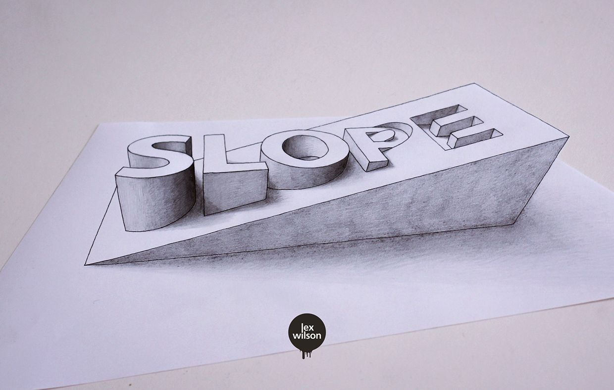 An ongoing series of experiments with type, mainly in 3D and with perspective.  [2013 - Present] #3dtypography