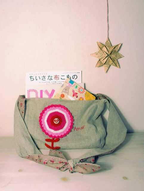 Amour No. 1  Small Slouchy Sling Bag by deepindigo on Etsy, €22.00