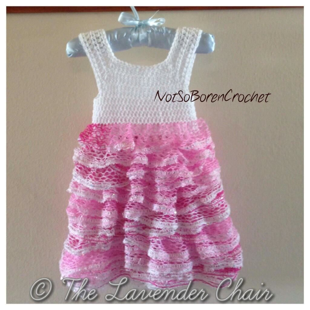 Sashay Ruffles Dress Crochet Pattern | Knitting and crochet ...