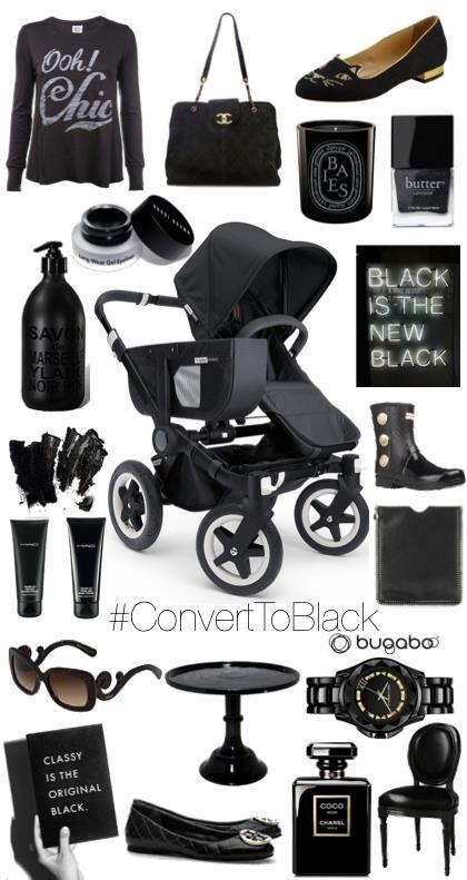 Bugaboo donkey all black