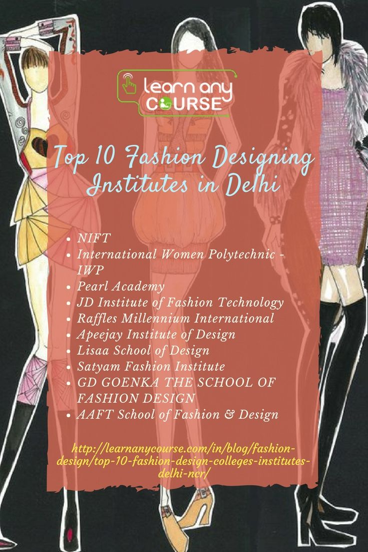Top 10 Fashion Designing Institutes in Delhi