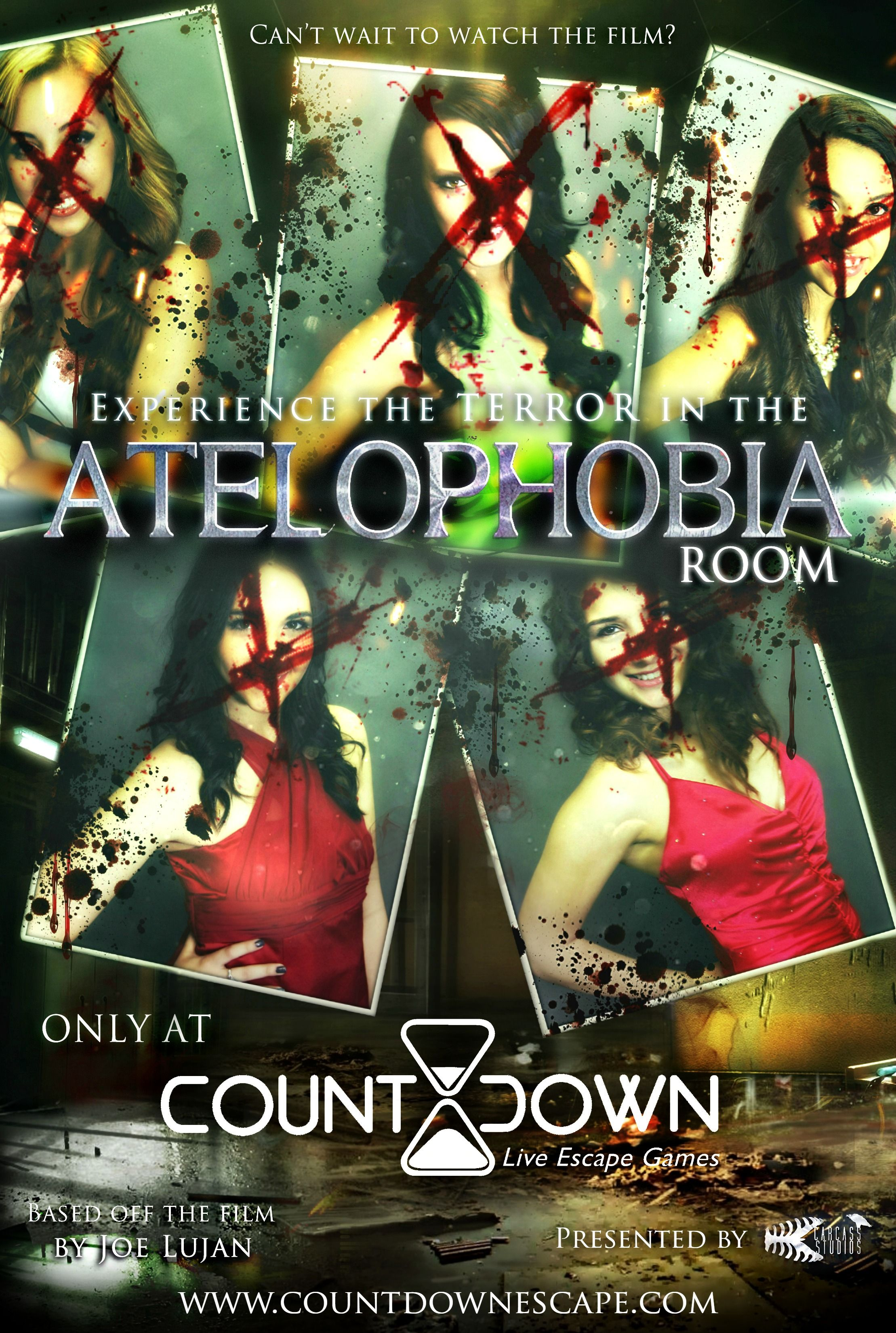 You only have 60 minutes to escape from The Atelophobia Live Escape Game