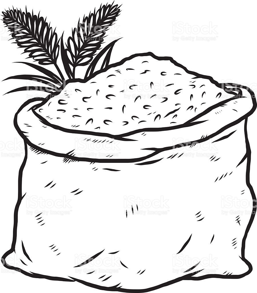 Rice Clipart Black And White Datas Desenhos Datas Comemorativas