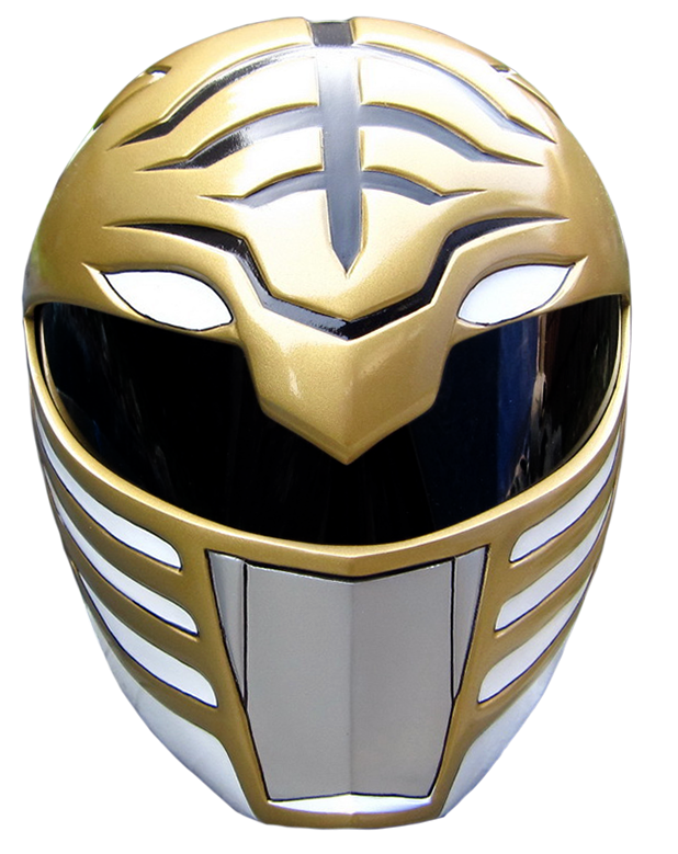 11517f90 WHITE HELMET - Power Ranges - Mighty Morphin 恐竜戦隊ジュウレンジャー, Kyōryū Sentai  Jūrenjā