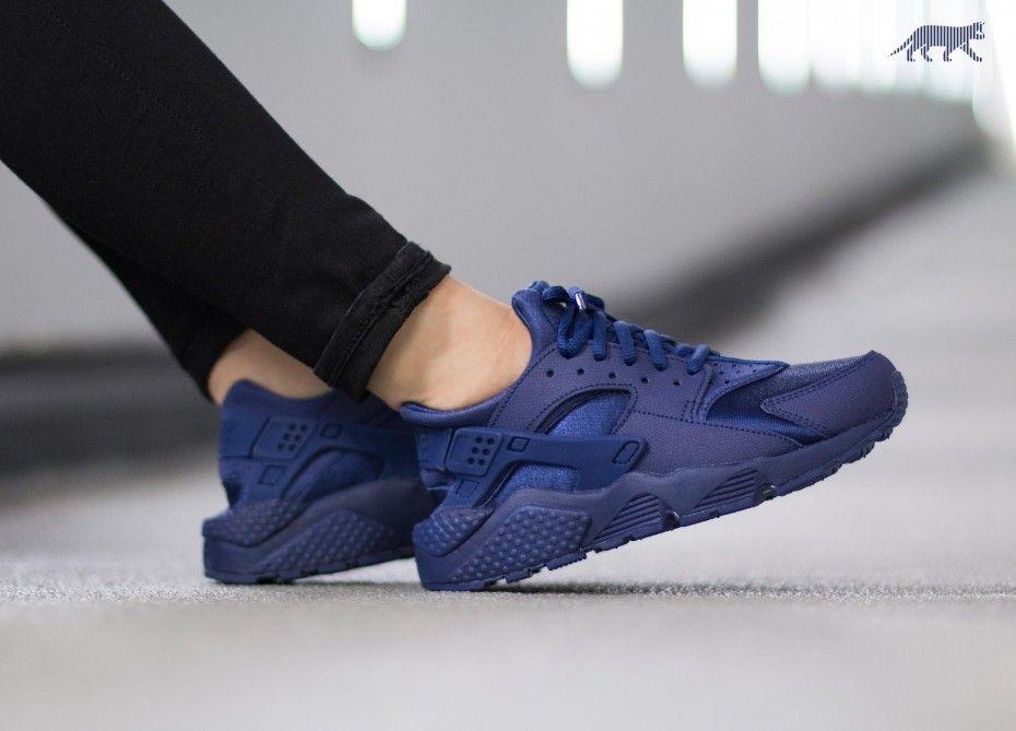 authentic quality superior quality buy online Nike Wmns Air Huarache Run (Loyal Blue / Loyal Blue) | N I ...