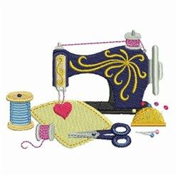 Vintage Machine Embroidery Design From Embroiderydesigns Com Machine Embroidery Patterns Vintage Embroidery Machine Embroidery