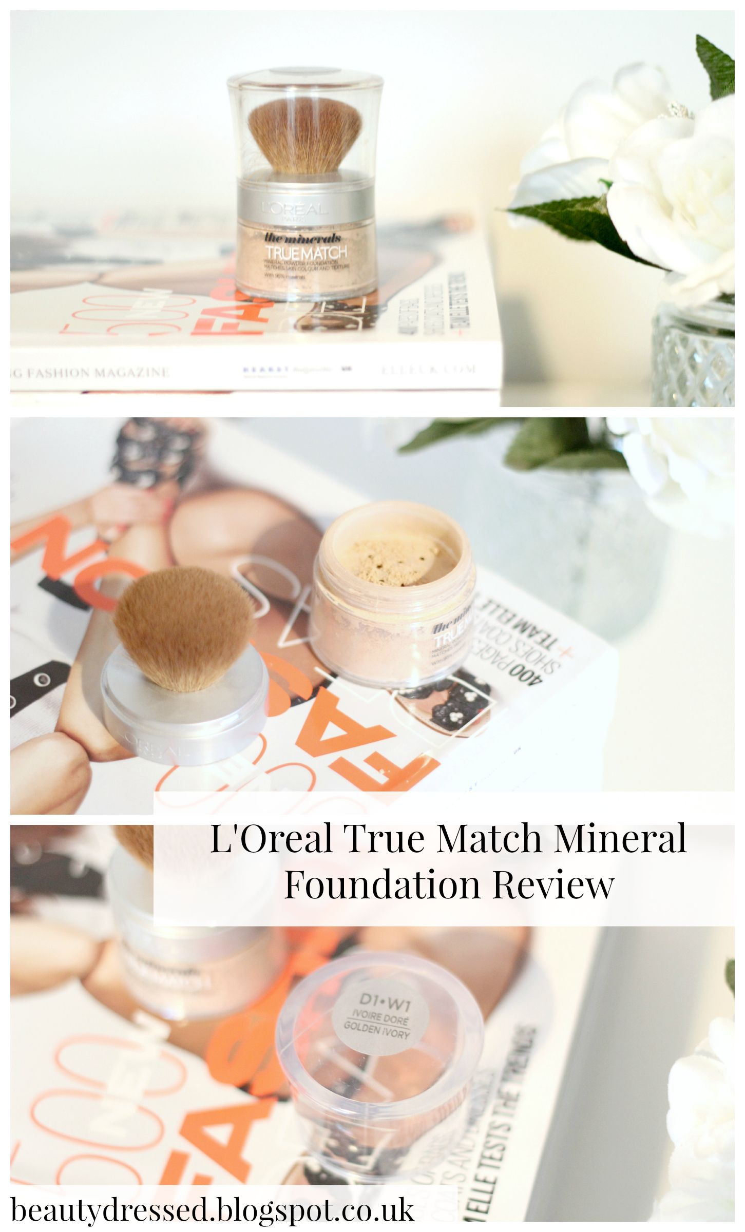 Powder Foundation For Oily Skin L'Oreal True Match