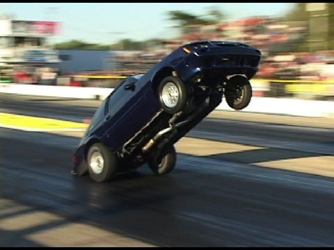 NON-STOP DRAG RACING WHEELSTANDS - YouTube