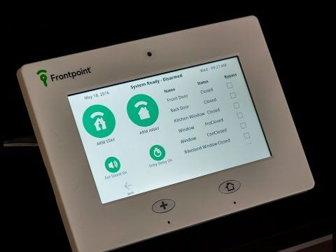 Frontpoint Security Touch Panel (Qolsys IQ Touch Panel) In Depth Review - YouTube #touchpanel